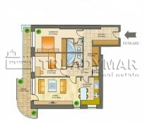 Apartment 3 rooms for rent   Metropolis